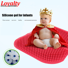 Loyalty Car Decor Accessories Massage Cool Silica GeCushions Non-slip High Memory Mat Office Silicone Breathable Seat Coversl