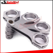 Connecting Rods Rod Fit Toyota 5E 5E-FE Corolla Paseo Conrods Con Rod 130.5mm Center Length 800 BHP Floating Pin crank Cranks