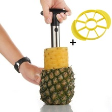 Hot Selling Stainless Steel Pineapple Peeler for Kitchen Accessories Pineapple Slicers Apple Slicer Fruit Cutter Cooking Ananas