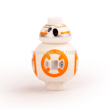 Single Sale BB8 Astromech Droid SW661 2017 Hot Movie Star battle Rogue One The Force Awaken 75102 Building Blocks Kids Toys Gift(China)