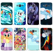 selling my little pony designs luxury Clear Case Cover Coque Shell for Samsung Galaxy J1 J2 J3 J5 J7 2016 2017 Emerge(China)