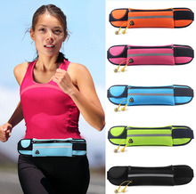 New zipper Waterproof Running For IPhone 4 4s 5 5s Se 5c 6 6s 7 7s plus Sport Arm Waist Band Bag Fitness Case Cover waistband