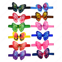 100pcs Pet Puppy Dog Cat Bow ties Adjustable Butterfly Dog Cat Bowties Dog Accessories Collar Pet Supplies