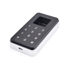 Combination Numbers Key Pad Door Lock Mini Biometric Fingerprint cabinet lock(China)