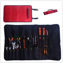 Tools not including ! 2 colors Hardware Kit Tool Roll Buckle Plier Screwdriver Spanner Carry Case Durable top quality