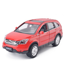 Free Shipping High simulation 1:32 alloy pull back car Honda CRV SUV off-road vehiclesmetal model car toy kids gifts