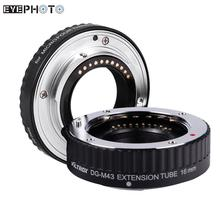 Macro AF Auto Focus Extension DG Tube 10mm 16mm Set Ring Metal Mount for Micro Camera Olympus 1 E-PL2 Panasonic G1 GF1