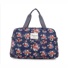 2017 Women Big Capacity Floral Duffel Totes Bag Multifunction Portable Sport Bag Travel Flower Printed Luggage Gym Fitness Bag