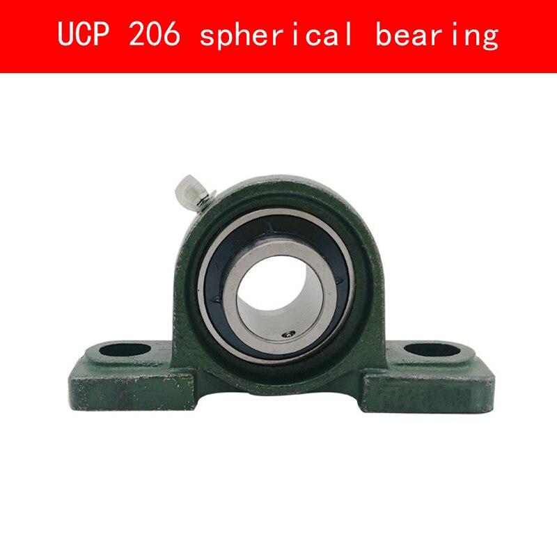 UCP 206 vertical spherical bearing for diameter 30MM shaft<br>