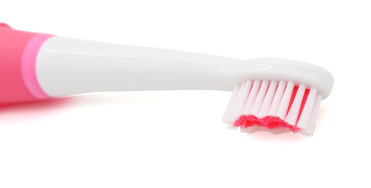 Kemei Original Practical 2 in 1 Ultrasonic Electric Facial Cleaning Brush Teeth Brush Electric Face Portable Washing Beauty Tool 7