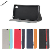 Buy Glossy Leather Flip Wallet Case Sony Xperia Z1 Book Cases Sony Xperia Z1 L39H C6902 C6903 C6906 Plastic Back Case Cover for $4.74 in AliExpress store