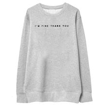 Buy Letter Printing Hoodies Sweatshirts harajuku O neck Sweats Women Clothing Feminina Loose Short Fleece Warm Gray Tops for $6.91 in AliExpress store