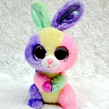 TY Beanie Boos Cute Unicorn&Owl&Bunny Rabbit Plush Toys Big Eyes Eyed Stuffed Animal Soft Toys Kids Gifts 18cm#ML243