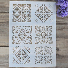 DIY Craft Letter Alphabet Layering Stencils For Walls Painting Scrapbooking Stamping Stamp Album Decorative Embossing Paper Card