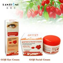 Q10 Goji Cream Top Skin Care Goji Eyes Cream face Whitening skin care Anti wrinkle eye cream Remove dark circles Beauty creme(China)