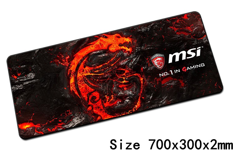 MSI mouse pads 70x30cm pad to mouse notbook computer mousepad best seller gaming mousepad gamer to keyboard laptop mouse mat<br><br>Aliexpress