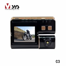 The only original manufacture of Motorcycle DVR on Aliexpress - Classical C3 dual lens camera for bike