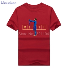 Men's Barcelona Lionel Messi 500 Goals tee T Shirt Men Short Sleeve  100% cotton T-shirts for messi fans gift 0429-5
