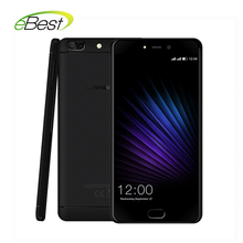 "Original Leagoo T5 smartphone Dual Back camera 13M MTK6750T Octa core 5.5"" FHD 4G+64G Android 7.0 Front Fingerprint mobile phone"