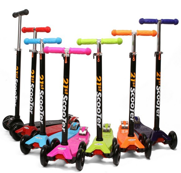 Popular Height adjustable Kids Foot Scooters Liftable Childrens Kick Scooters Three-Wheel Scooters Free Shipping<br><br>Aliexpress