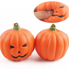 TOFOCO 7cm Pumpkin Anti-stress Funny Gadgets Squishy Squeeze Slow Rising Halloween Novelty Shocker Gags Practical Jokes(China)