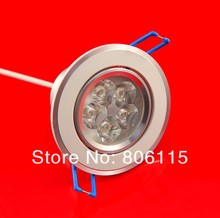 (25pcs/lot) 100% CREE LED downlight ,15W 5X3W Dimmable led down light  DHL Free shiping ,