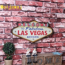 2017 Meijswxj LED Neon Sign Vintage Home Decor Shabby chic Brass knuckles weapon Bar Cafe Restaurant wall hangings welcome signs