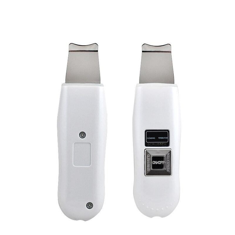 Portable Facial Ultrasonic Ultrasound Ion Skin Scrubber Care Device Beauty Machine EU Plug<br>