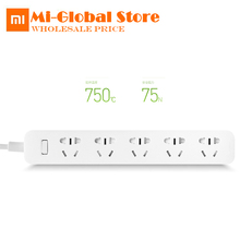 Buy hot Xiaomi Mi 5 Power Sockets Smart Power Strip Plug Independent Safety Door Electrical Power Adapter Nonslip Mat for $17.50 in AliExpress store