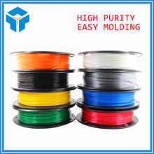 DIY 3d printer filament more colors Optional PLA/ABS 1.75mm MakerBot RepRap plastic Rubber Consumables Material 0.30/KG(China)