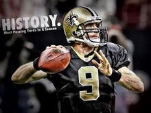 4336 Drew Brees New Orleans Saints NFL Sport-Wall Sticker Art Poster For Home Decor Silk Canvas Painting(China)