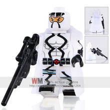 Building Blocks Single Sale PG246 Storm Shadow Figure Cobra Ninja Trooper Kids DIY Toys PG8063 Drop Shipping(China)