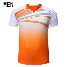 Free Printing Badminton shirt Men/Women , sports badminton t-shirt, Table Tennis shirts , Tennis wear dry- cool shirt 3076A(China)