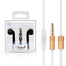 Hot Sale E6C Earphone Headphone Headset Stereo Earbuds with Microphone for iPhone Airpods Earpods