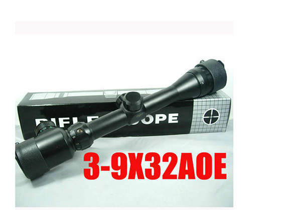 caza Hunting 3-9x32 AOE R&amp;G Illuminated Rangfinder Rifle Scope Outdoor hunting scopes<br><br>Aliexpress