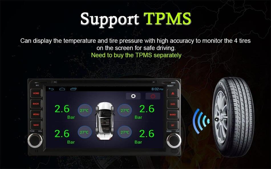 for Toyota RAV4 FJ CRUISER ALPHARD PREVIA GL HIACE IELASFORTUNER INNOVA COROLLA CAMRY LAND CRUISER HILUX Android GPS DVD Player
