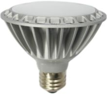 Free Shipping PAR30 Dimmable 220VAC E27 120Deg RA80 9W  820lm Warmwhite LED spot light