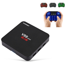 SCISHION V88 Android 6.0 Smart TV Box RK3229 4 Core 1GB+8GB Set-top Box Support 3D Movie Media Player With Airplay DLNA Miracast