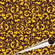 "European pattern  chocolate transfer paper 10 sheets per pack chocolateria table 8.07 ""x 12.6"""