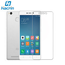hacrin For Xiaomi Redmi 3S Tempered Glass Good Quality Temperli Cam Steel Screen Protector Film For Xiaomi redmi 3S Pro prime 3X(China)
