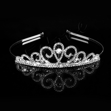 Wedding Bridal Princess Crystal Rhinestone Tiara Prom Hair Crown Hair Accessories Tiaras HairBands