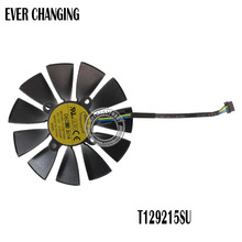 EVERFLOW T129215SU 12V 0.5A 95mm VGA Fan For ASUS GTX780 GTX780TI R9 Graphics Card Cooling Fan(China)