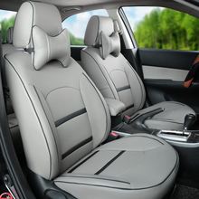 Custom covers car for Lincoln MKX car seat cover PU leather seat covers for car seats decorative seat cushion cover for lincoln