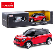 Girls Remote Control Car Rastar Electric RC Car 1:24 Radio Controlled Toys Boys Gifts Kids Toys Mini Cooper S Countryman 71700(China)