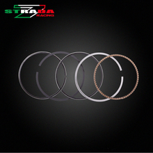 Engine Cylinder Part Piston Rings Kits For Honda Steed400 BROS400 Big ants 400 Steed Motorcycle Accessories(China)