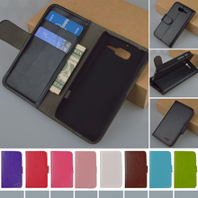 J&R Original Flip Leather Case For Motorola Moto RAZR D3 XT919 XT920 Case With Wallet ID Card and Stander