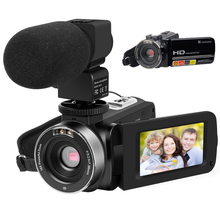 Car Camera Video Camcorders HD 1080P 24MP IR Night Vision Camera Recorder Digital Zoom 3 Inch LCD Touchscreen Camcorder