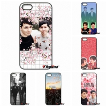 For Xiaomi Redmi Note 2 3 3S 4 Pro Mi4i Mi4C Mi5S Mi MAX iPod Touch 4 5 6 Amazing dan and Phil Printed Phone Capa Case cover