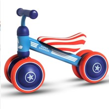 1-3yeas baby toy Twist car 2 wheels mini learning walking motor gift for kids good quality(China)