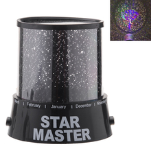 Night Light Master Projector LampLED Starry Cosmos Pattern Star Sky landscape Romatic Gift for baby children bedroom sleep(China)